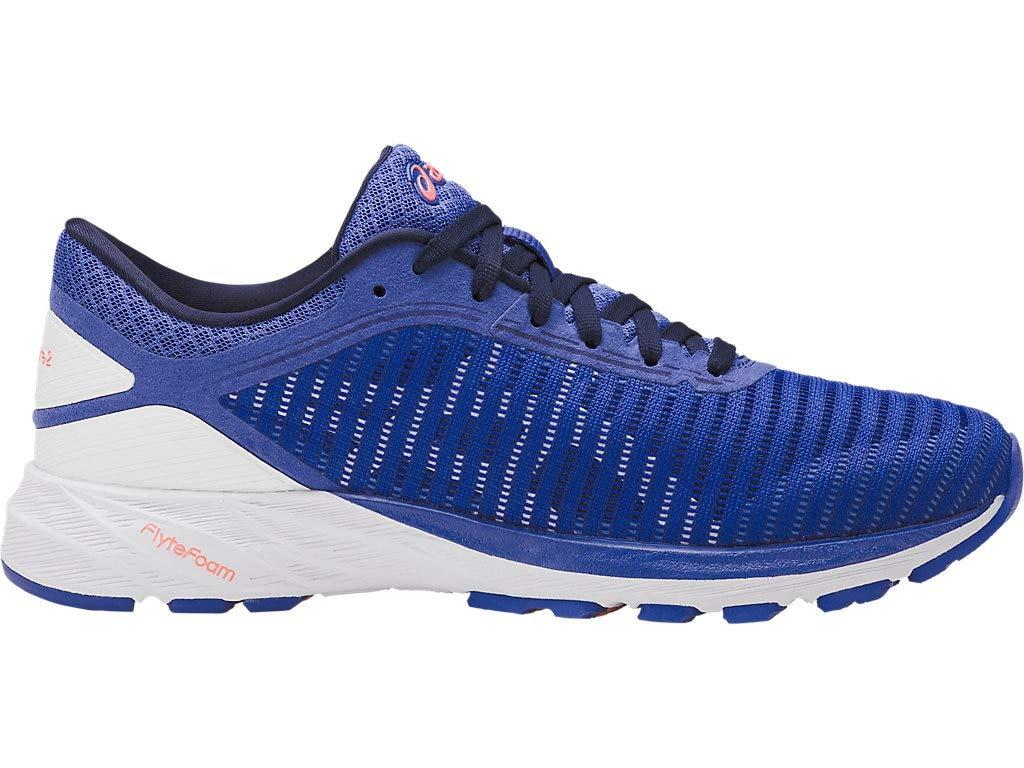 ASICS Women's Dynaflyte 2 Running Shoes, 5M, Blue Purple/White/Indigo Blue