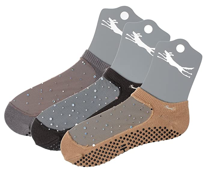 Amazon.com: Shashi calcetines antideslizante para pilates ...