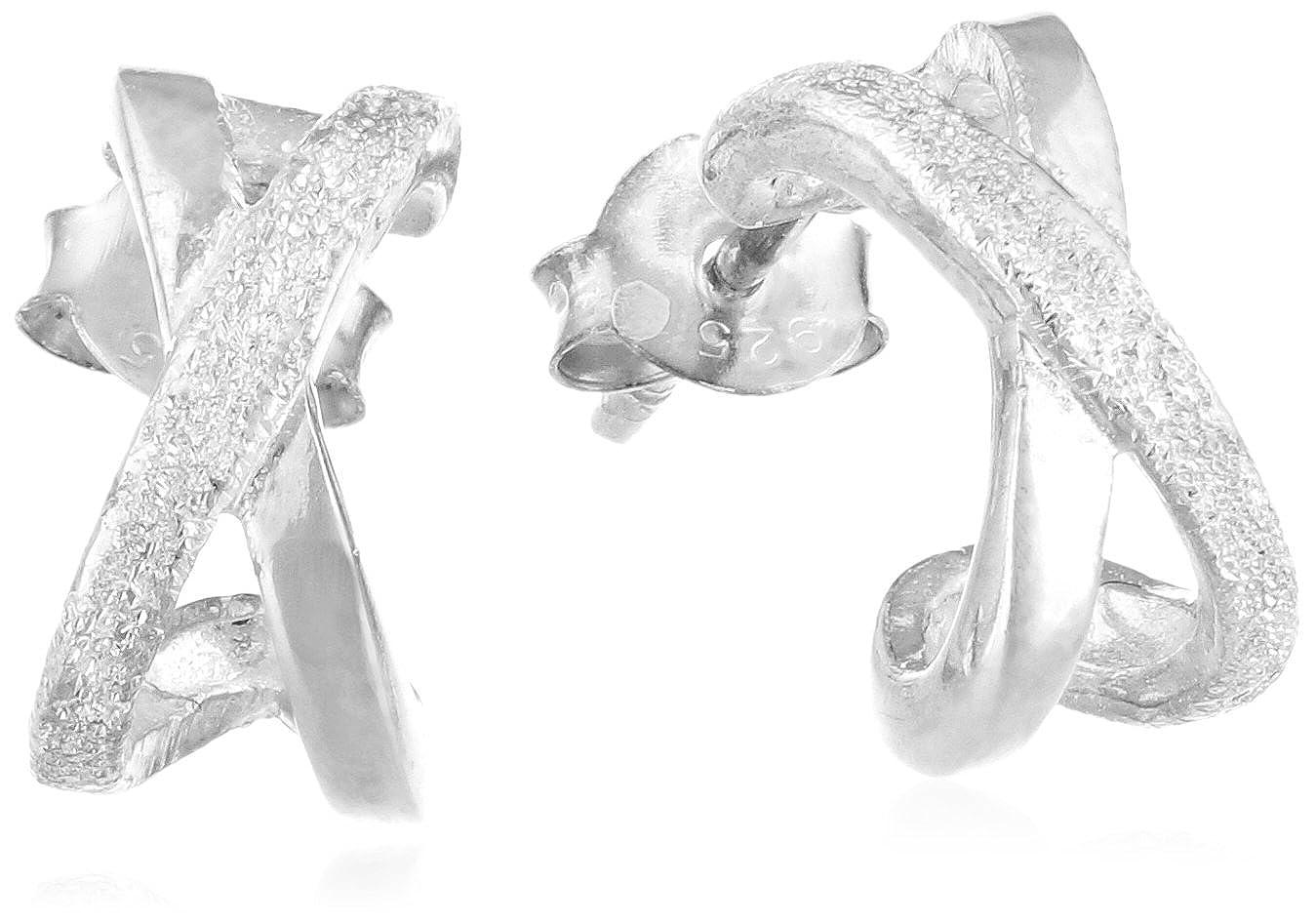Elements Boucles d'oreilles - Femme - Argent Sterling 925 E777