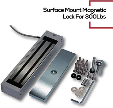 Magnetic lock Maglock 600 Lbs indoor UL listed out swing