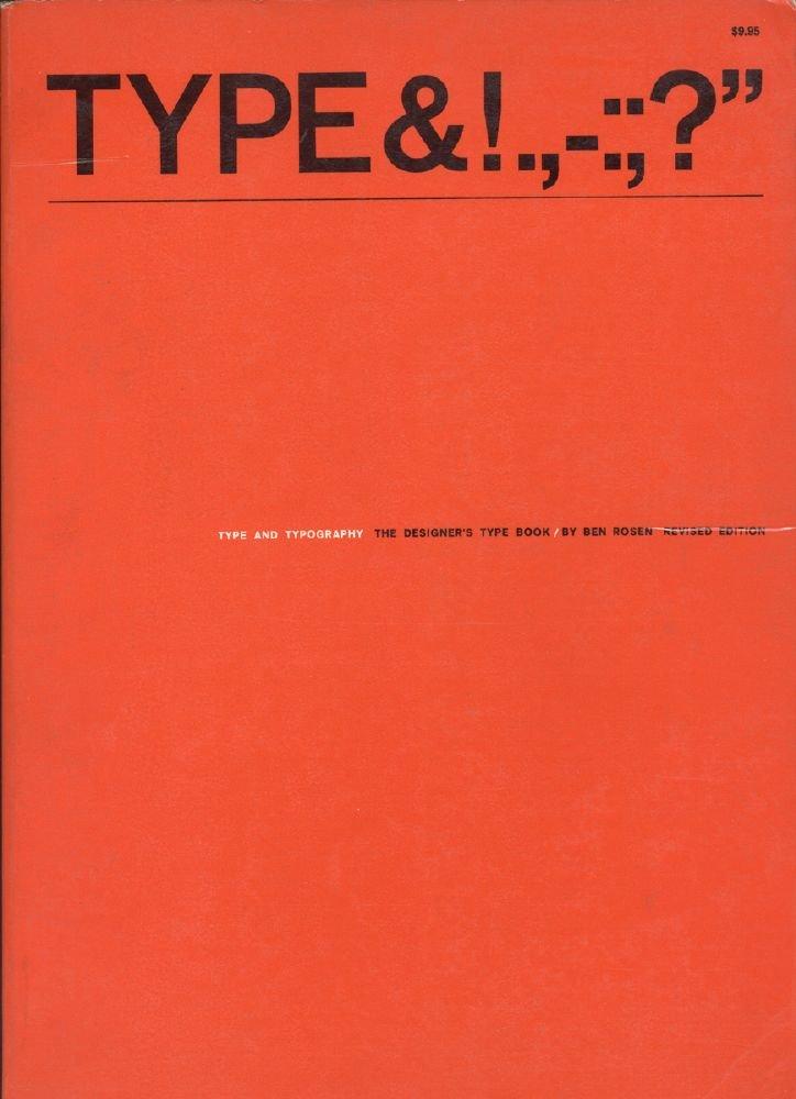 Type and Typography: Designer's Type Book