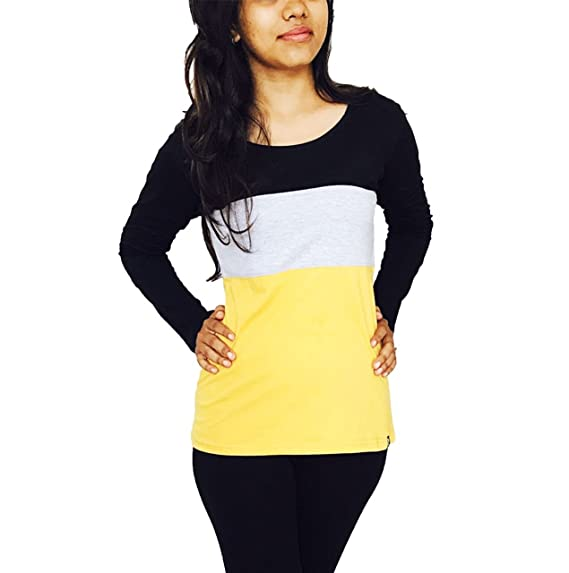 590c1a00107 Leotude Womens Cotton Casual Tshirts  Amazon.in  Clothing   Accessories