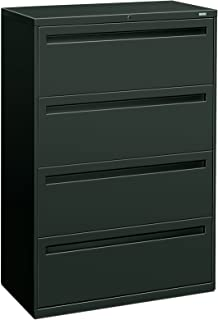 product image for HON 784LS 700 Series 36 by 19-1/4-Inch 4-Drawer Lateral File, Charcoal