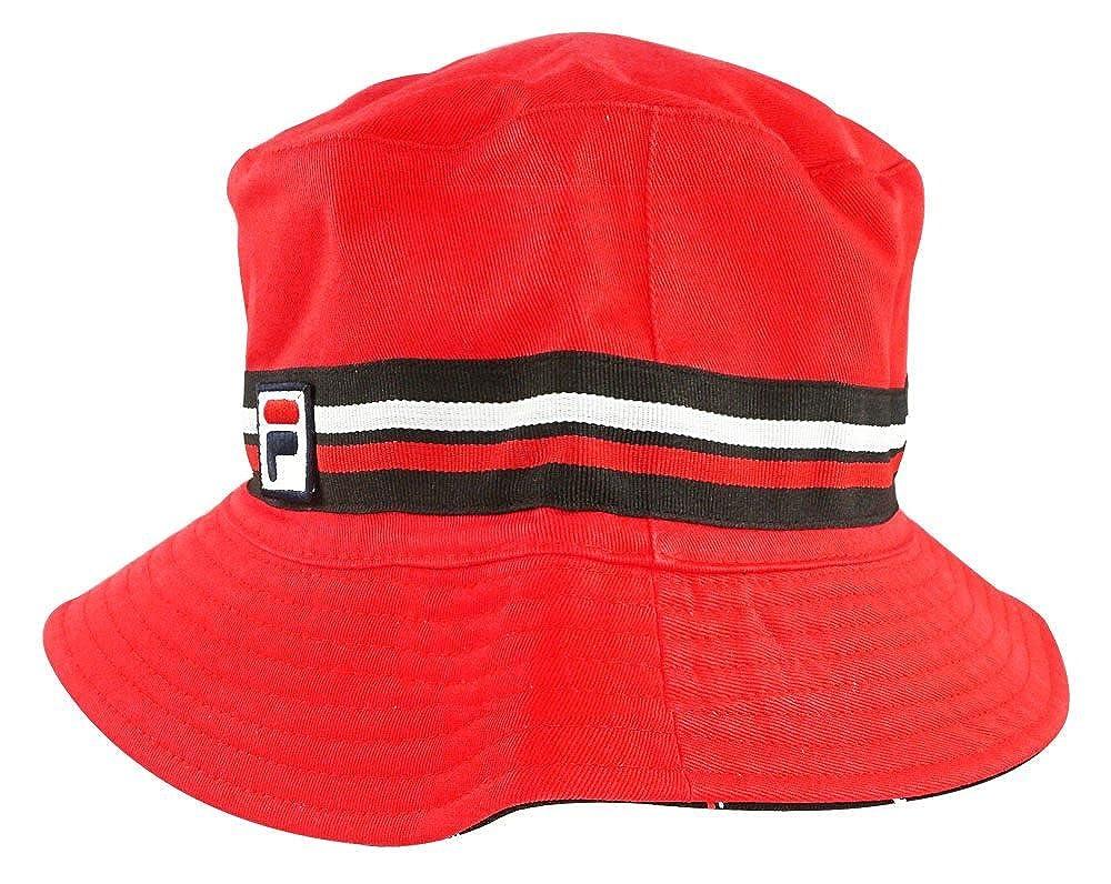 ab85c8f0a25 Fila Men s Heritage Basic Comfort Fashion Bucket Hat at Amazon Men s  Clothing store
