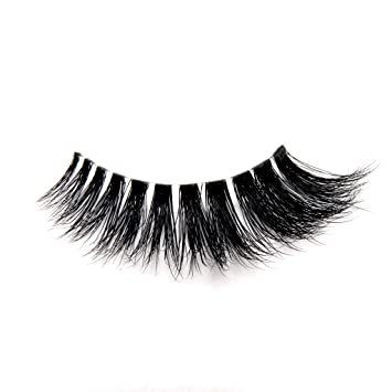 9d374d63dc5 Amazon.com : InvIsible Band 3D Mink Fur Lashes with a Natural Looking Naked Band  Mink Fur Lashes : Beauty