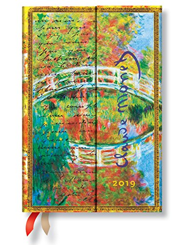 Amazon.com : Paperblanks 2019 Mini Monet Verso : Office Products
