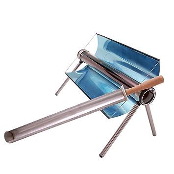 TOPQSC Estufa de Barbacoa Solar, Horno Solar Portátil, Cocina Solar Parrilla de Barbacoa Calentador