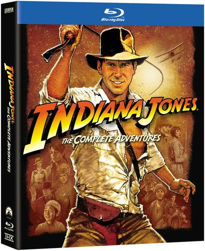 Indiana Jones: The Complete Adventures (Raiders of the Lost Ark/Temple of Doom/Last Crusade/Kingdom of the Crystal Skull) [Blu-ray] by Paramount