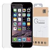 HIPPOX Protector Pantalla iPhone 6s Plus Protector Pantalla iPhone 6 Plus Grosor 0.2mm Protector de Pantalla de Vidrio Templado para iPhone 6 Plus / 6S Plus [Garantía de por Vida] 1 Pack