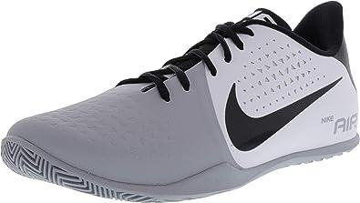 de0d4c2f3ed7 Nike Men s Air Behold Low Basketball Shoe White Black Wolf Grey Size 8.5 M