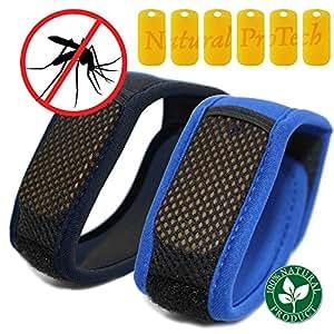Amazon Com Natural Mosquito Repellent Bracelet Bands 6