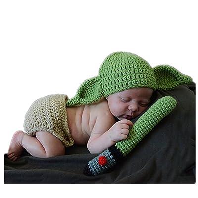 df9d6aaca7cb0 Mode nouveau-né garçon fille bébé Costume Tricot Photographie Props Chapeau  Pantalon