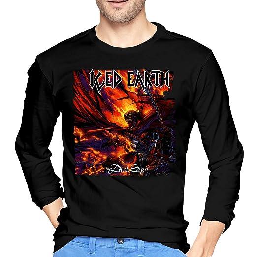 LilianR ICED Earth The Dark Saga Mens Long Sleeve T Shirt Black S 470731f087
