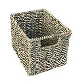 Mini Rectangular Seagrass Storage Basket
