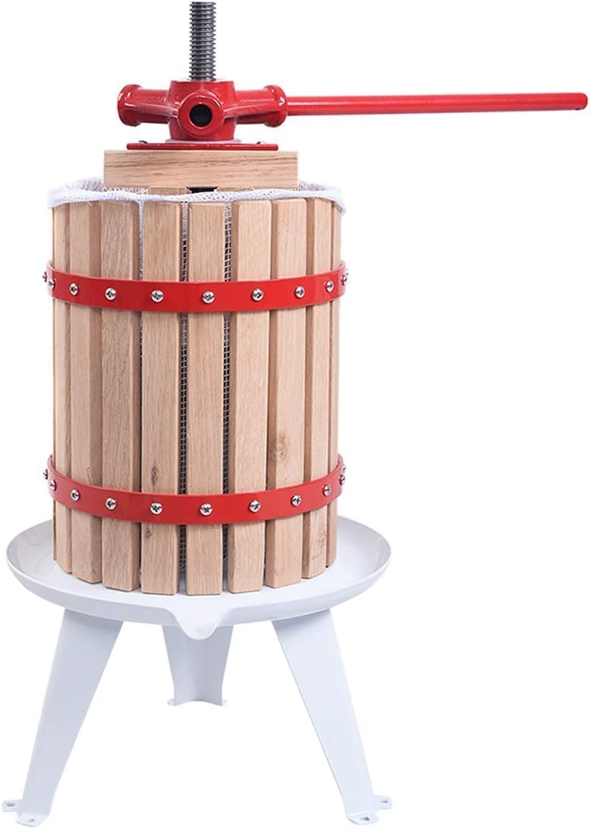 it's useful. 1.6 Gallon Solid Wood Basket Fruit, Wine and Cider Press featuring an easy to clean design