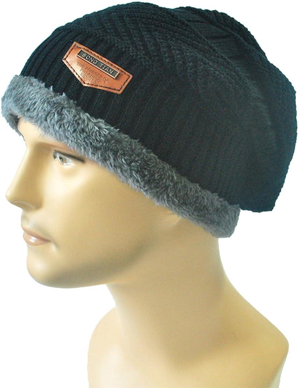 ZEHAT Unisex Thicken Plush Cycling Driving Men Headwrap Hat Earmuff Winter Warm Hat