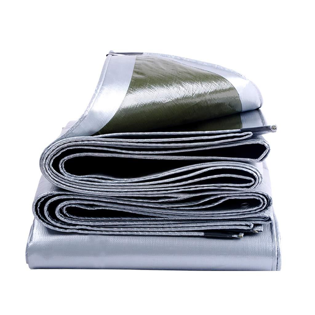 Im Freien Wasserdichtes Sonnenschutz-Tuch der Plane Dickes Anti-Tuch (Farbe   A, größe   3x3m)