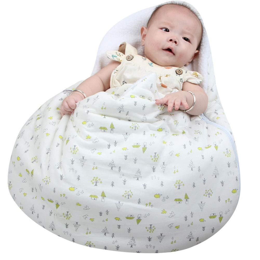Miyanuby Saco de Dormir para Bebés, Huevos Lindos Dulce y Cálido Algodón Nido del Ángel Nido del Bebé Niña y Niño, Manta para Bebé Recién Nacido 0 a 6 ...