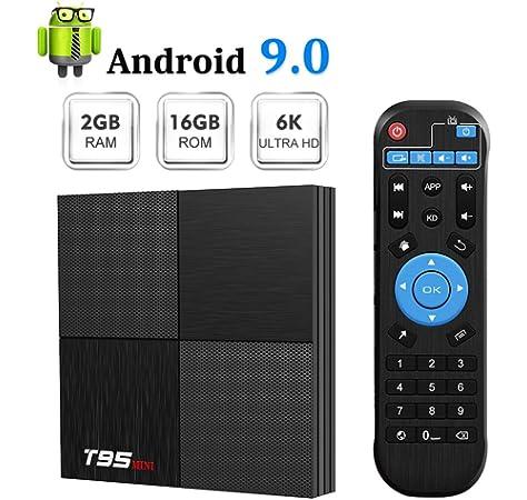Globmall X4 Android 7.12 TV Box 2GB RAM +16GB con Bluetooth 4.0 y ...