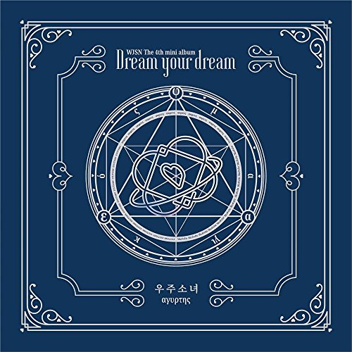 WJSN Cosmic Girls - [Dream Your Dream] 4th Mini Blue Ver CD+72p Booklet+1p Photocard K-POP Sealed for $<!--$20.50-->
