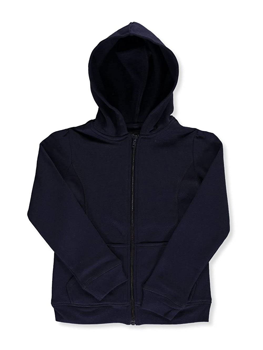 French Toast Little Girls' Fleece Hoodie - Navy, 6X