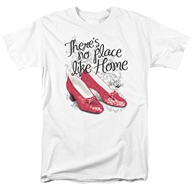 52dd25d758caf Amazon.com: A&E Designs The Wizard of oz Shirt Red Ruby Slippers T ...