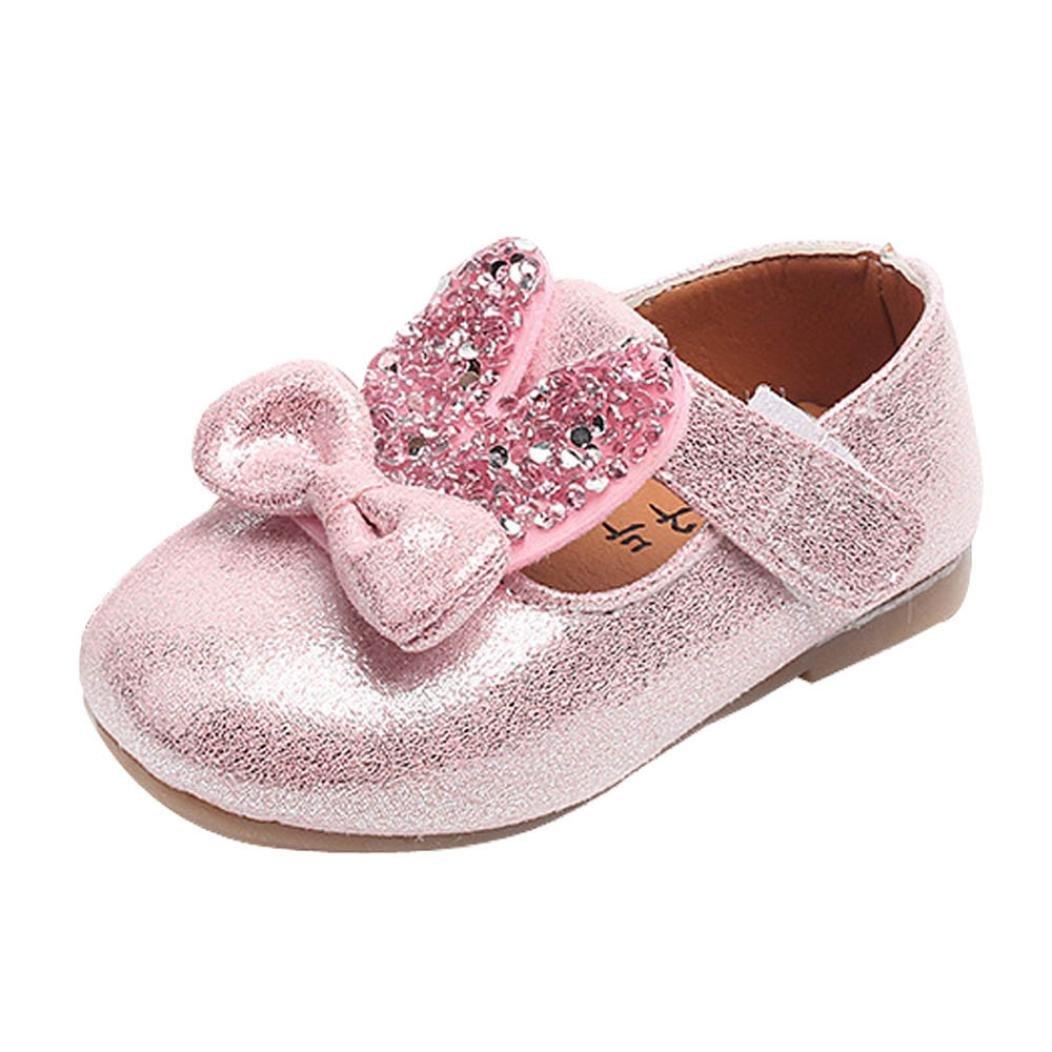 Sequin Bowknot Sneaker Kids Princess