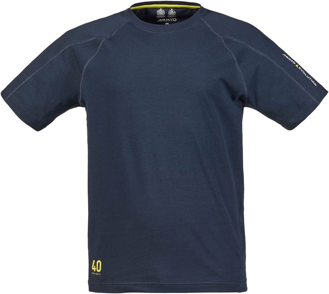 2016 Musto Evolution Logo Short Sleeve Tee in TRUE NAVY SE1361 Size - - Small: Amazon.es: Deportes y aire libre