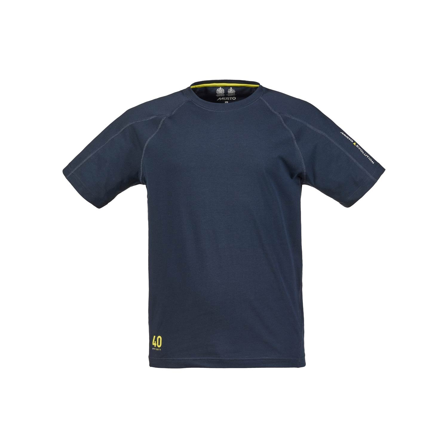 2016 Musto Evolution Logo Short Sleeve Tee in TRUE NAVY SE1361 Size - - Small