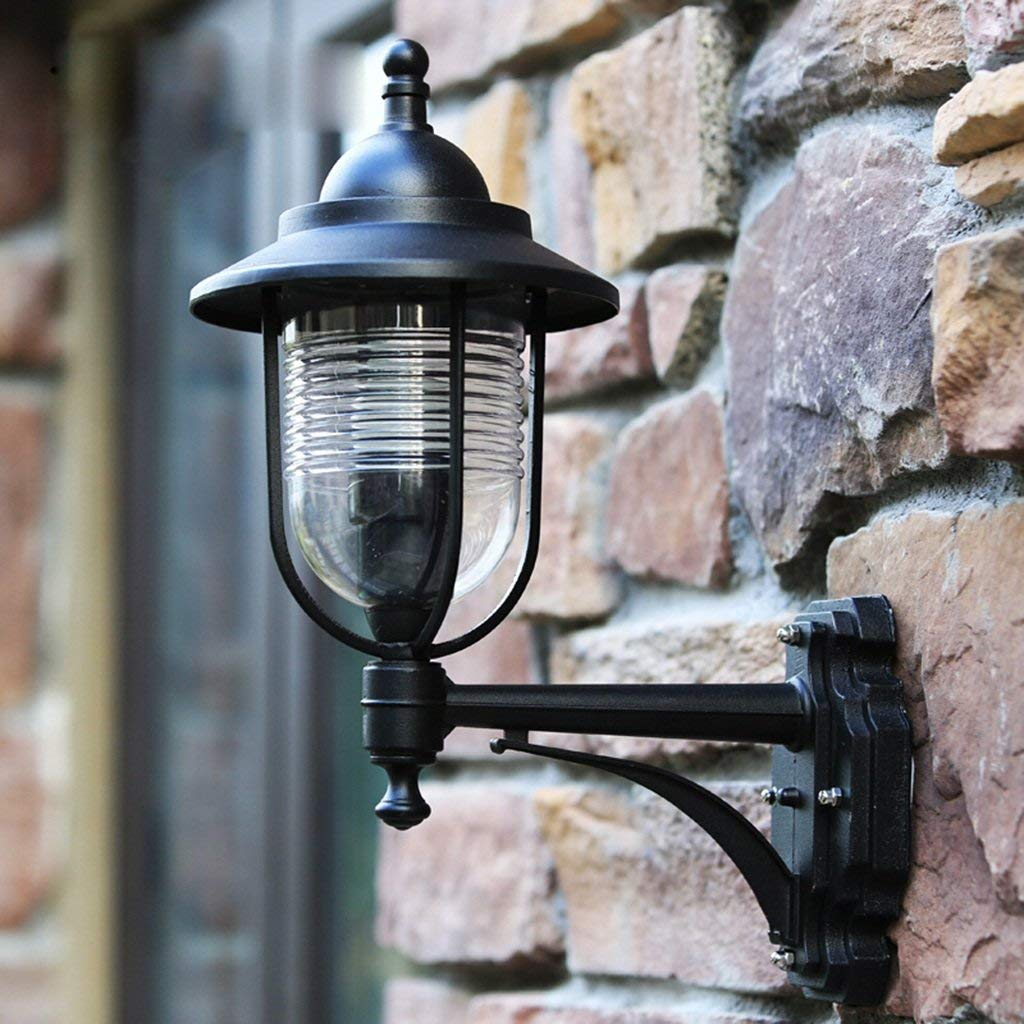 FXING LED Stile Europeo Industriale Vintage Lampada da Parete Creative Balcone Scala Luce da Parete Cortile Villa Lampada da Esterni Impermeabile luci a Parete E27