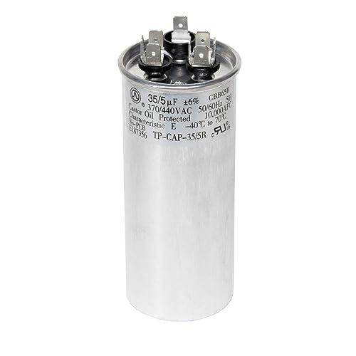 Hook up run capacitor