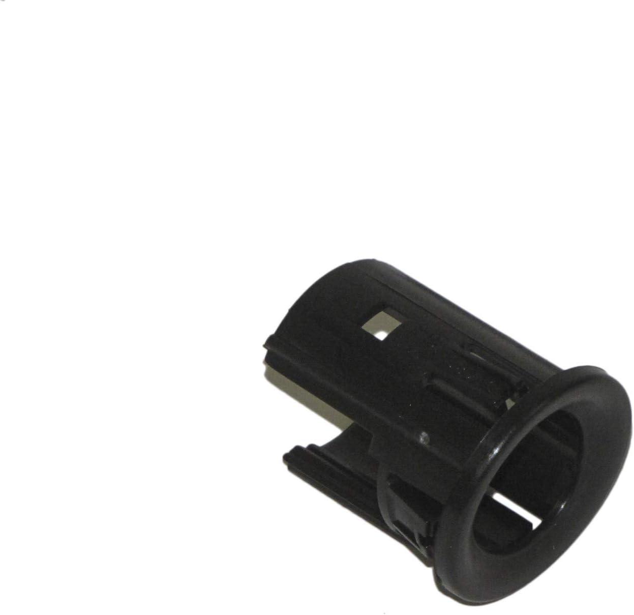 Park Assist Sensor Retainer Inner Outer 4pc Black For Silverado Sierra 2015-2018