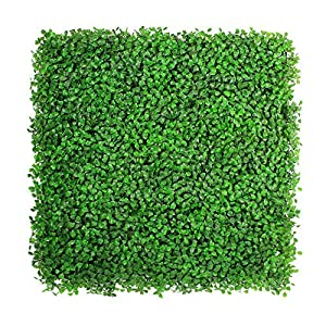 ULAND Artificial Hedges Panels, Outdoor Greenery Ivy Privacy Fence Screening, Home Garden Wedding Decoration 34