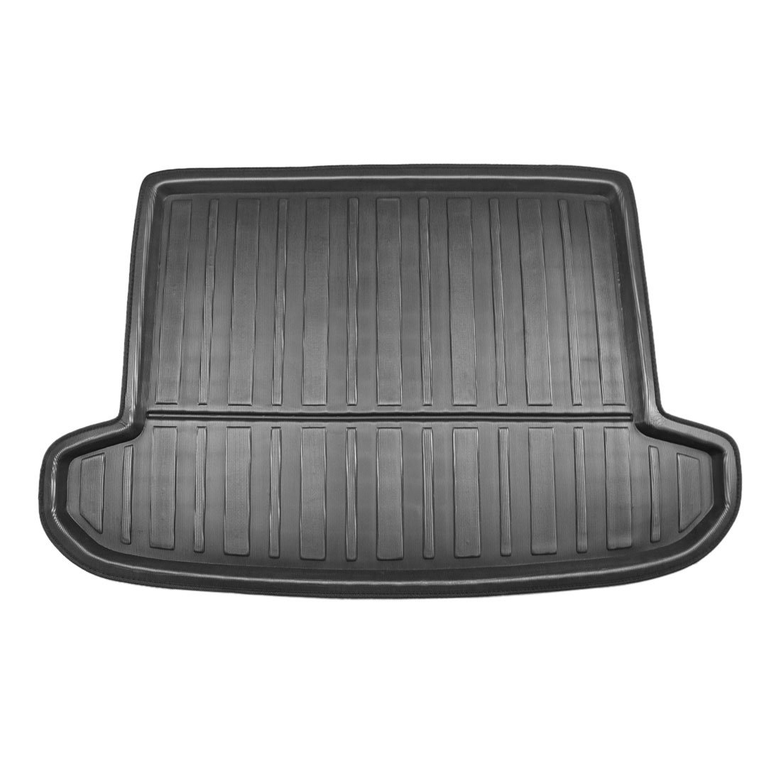 X AUTOHAUX Black Rear Trunk Boot Liner Cargo Mat Floor Tray for Hyundai Tucson 16-18