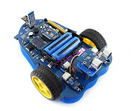 Amazon com: NEW AlphaBot Bluetooth Ultrasonic Sensor Robot Building
