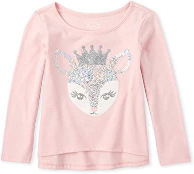 The Childrens Place Girls Big Holiday Fashion Top