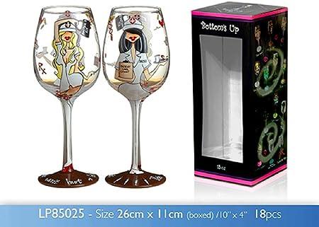 Tlc 15 Cl Verre à Vin Fantaisie Anniversaire Idée De Cadeau De Mariage Amazon Fr Cuisine Maison