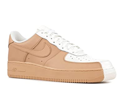 new style 6a67e da33f Nike Men s AIR Force 1 07  Premium Shoe Split White TAN (11.5 D
