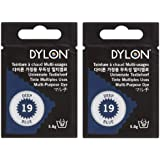 DYLON ダイロン マルチ (衣類・繊維用染料) 5g col.19 【2個セット】ディープブルー [日本正規品]