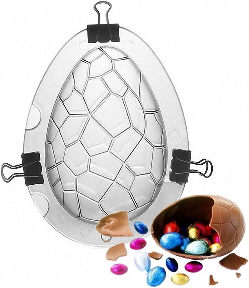 Giant Easter Egg Moulds Set of 2 Molds Make Eggs That are Huge