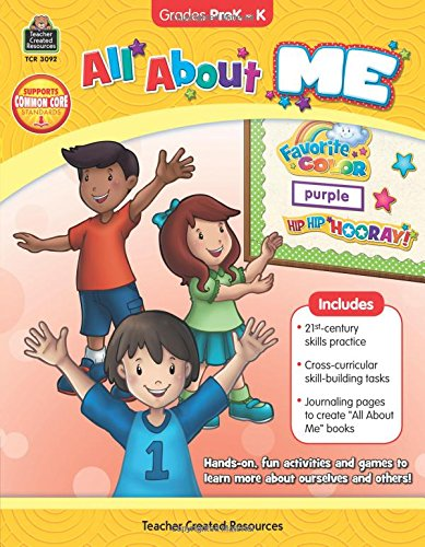 Download All About Me Grade PreK-K ebook