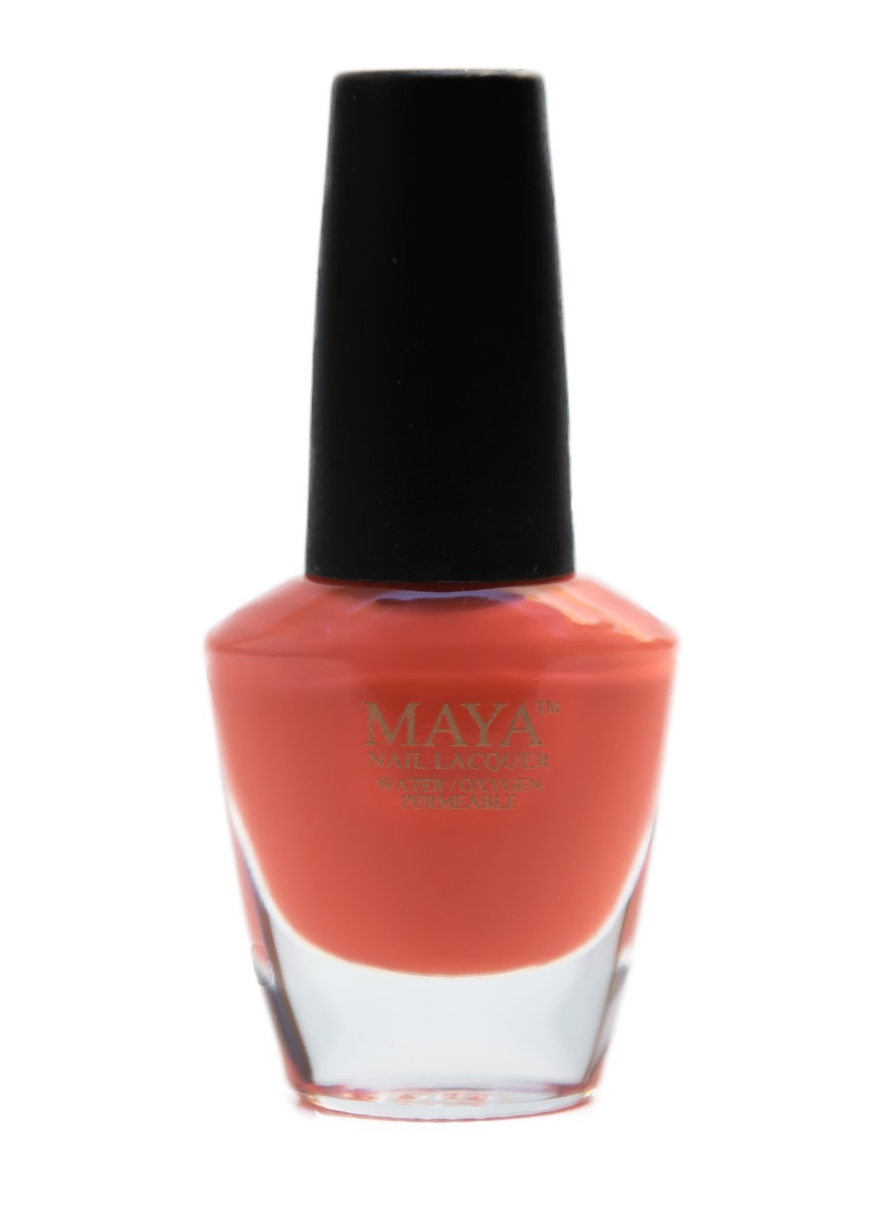 Amazon.com: MAYA Nail Lacquer (Mirage). Breathable, Made in the USA ...