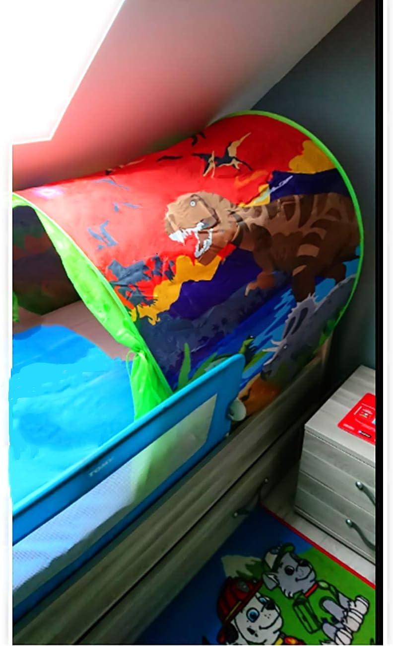 dinosaurio Carpa Para Cama,Carpa Cojin Molon,Carpa Para Ni/ños,Carpa Para Ni/ños Plegable M/ágica De Invierno,Navidad Y Regalos De Cumplea/ños Tienda De Campa/ña Para Cama Infantil,Carpa De Ensue/ño