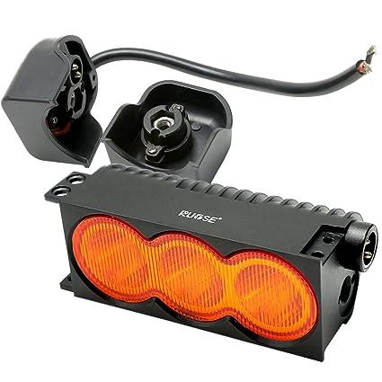 Rupse - Barra de faros 30 W LED, luz LED proyector largo alcance ...