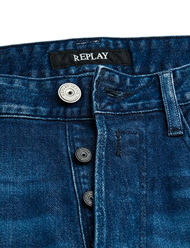 Blue Jeans Newbill Hombre Denim REPLAY Azul IAHxwCqnq