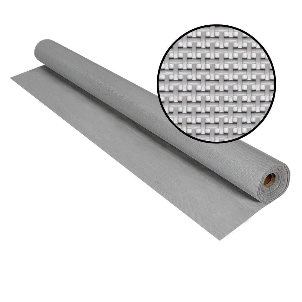 Phifer 3004028 SunTex 80, 96'' x 100', Gray