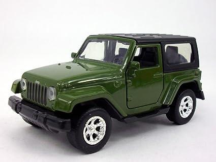 Green Jeep Wrangler >> 4 5 Inch Jeep Wrangler 1 32 Scale Diecast Metal Model Green
