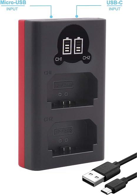 Baxxtar 1849 - Compatible con batería Sony NP-FZ100: Amazon.es ...