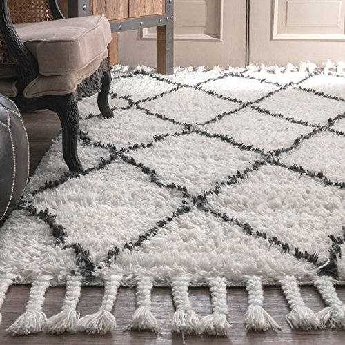 nuLOOM 200SPRE14A406 Venice Collection Area Rug 4 x 6 Natural