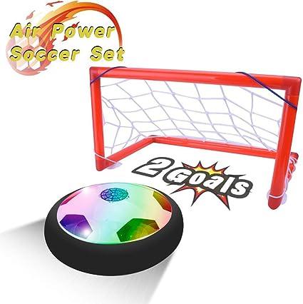 PUZ Toy Regalos para Niños de 4-7 Años Hover Ball Portería Set ...